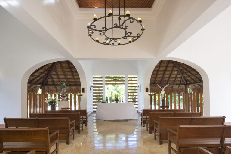Chapel - Inside View - Valentin Imperial - Mexico