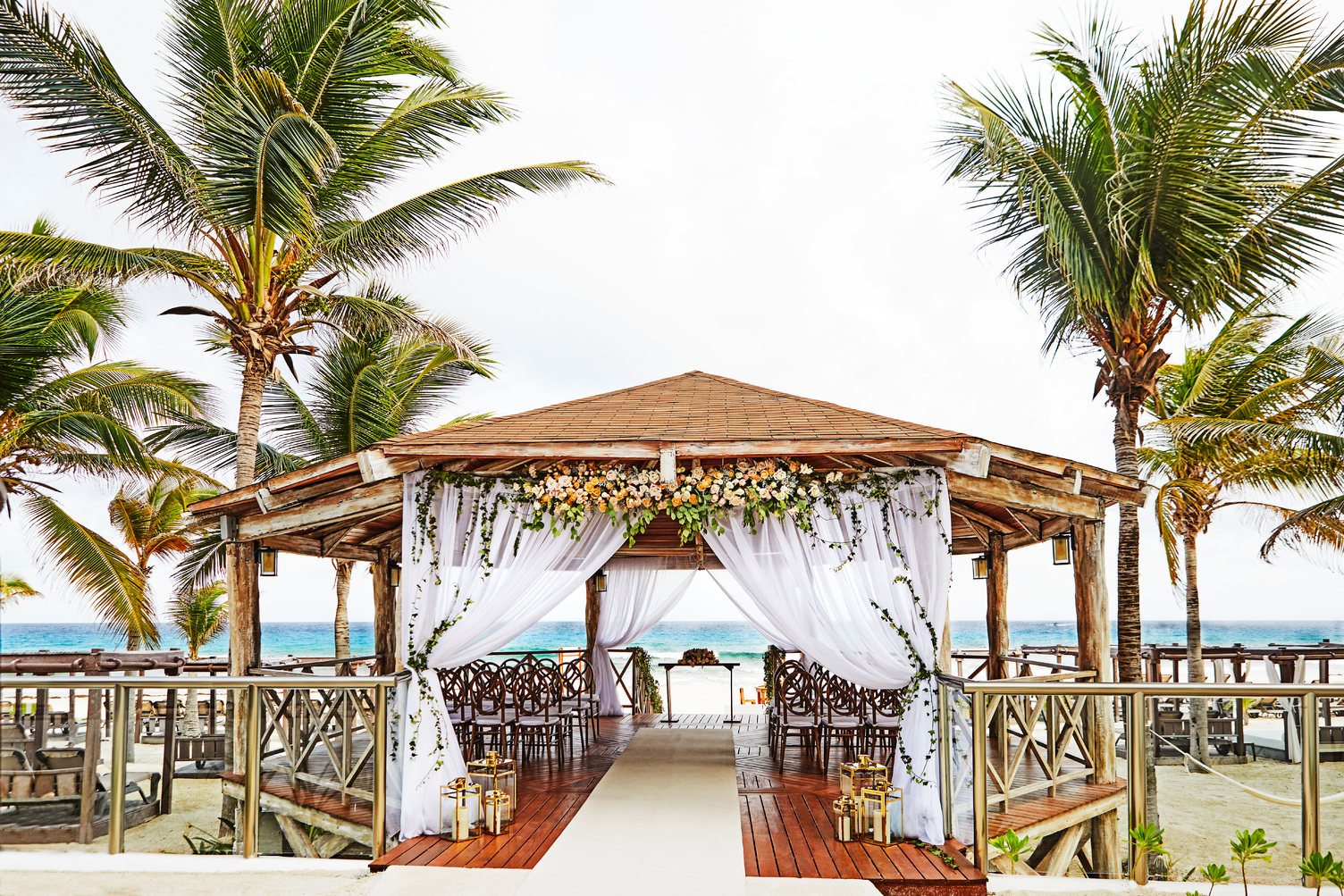 Hyatt-Zilara-Cancun-Wedding-Gazebo