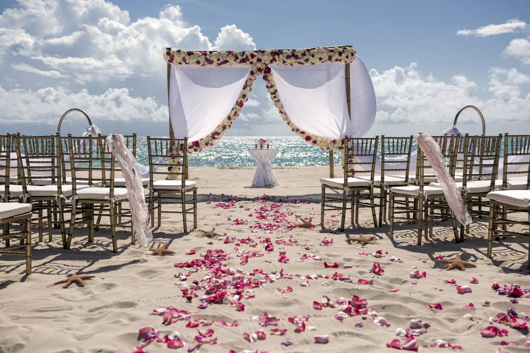 Wedding ceremony set up (ask for a quote)