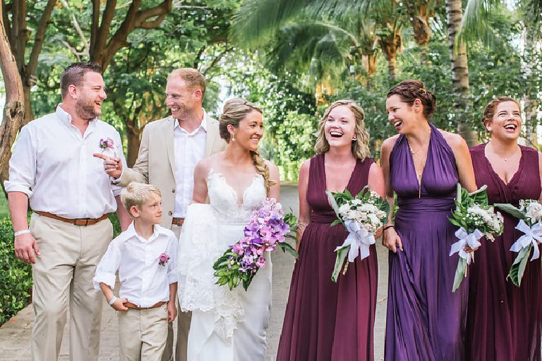 2019 Destination Wedding Bridal Party Trends