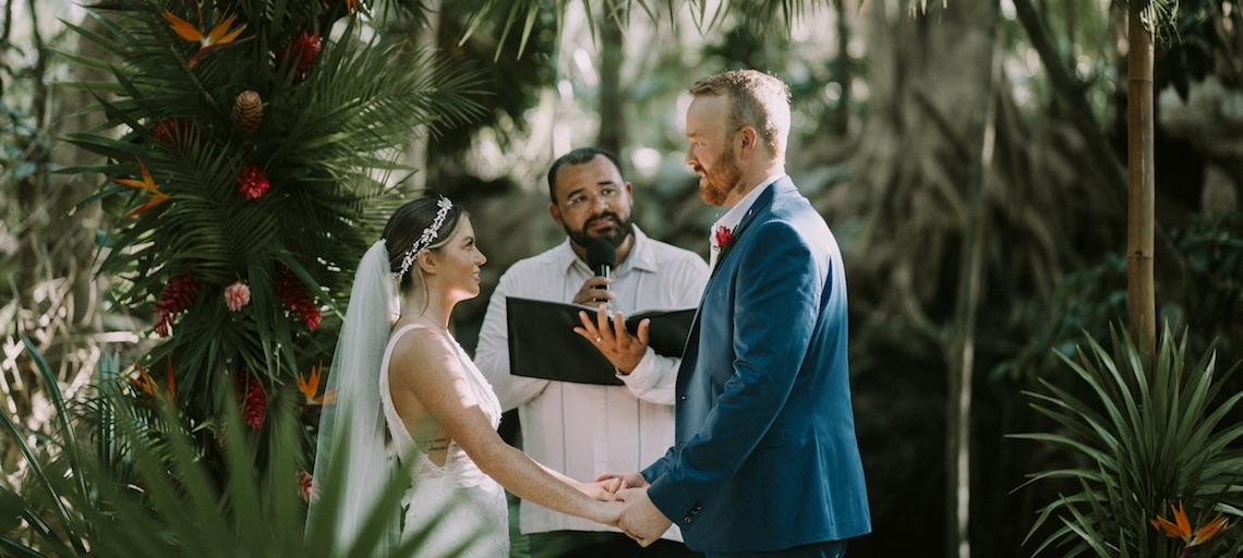 Brittany and Scott's Wedding at Sandos Caracol