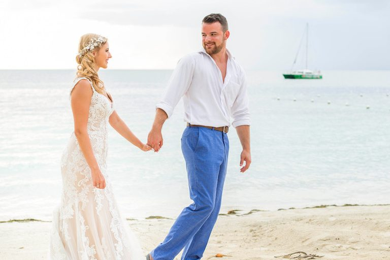 Jenia and Kyle's Wedding at AZUL Beach Negril
