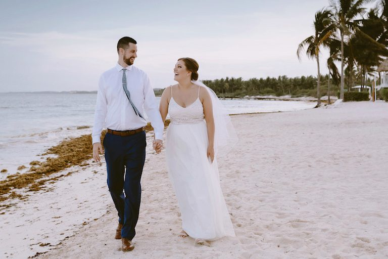 Kevin and Lindsey's Wedding at Dreams Tulum