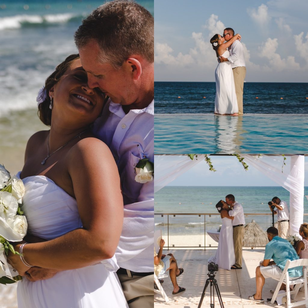 Tiphanie And Ricky's Wedding At NOW Jade Riviera Cancun