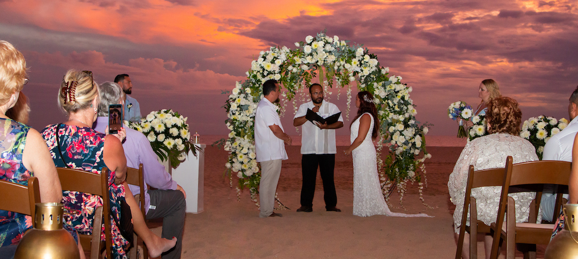 Morgan and Saul's Wedding at Hard Rock Cabos
