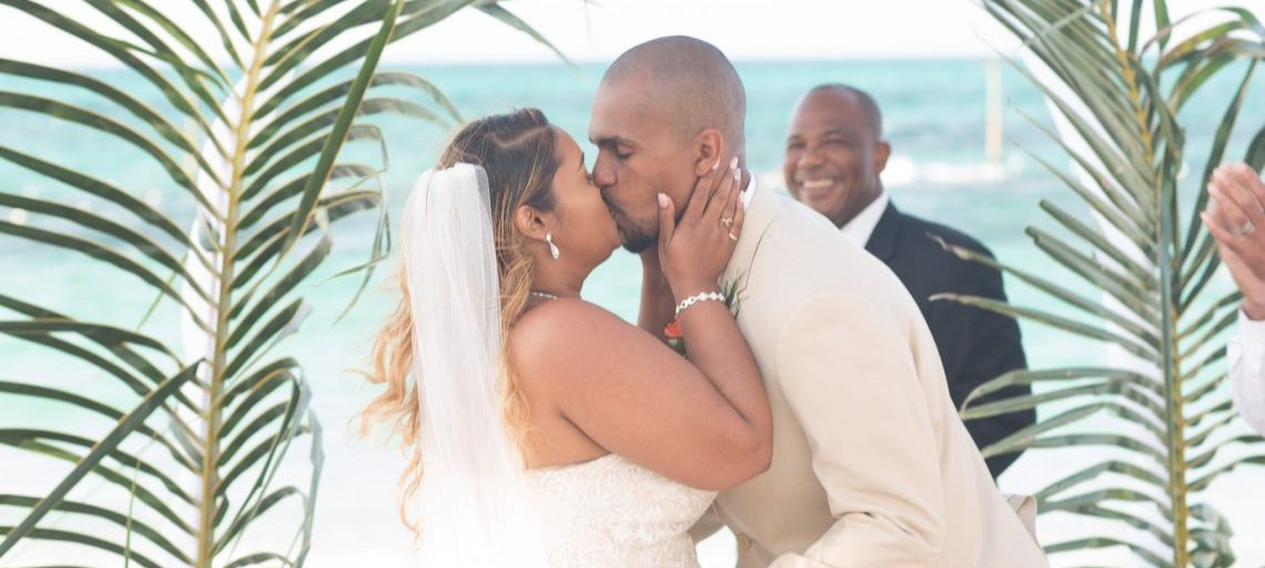 Renelle and Toney's Wedding at Melia Nassau Beach
