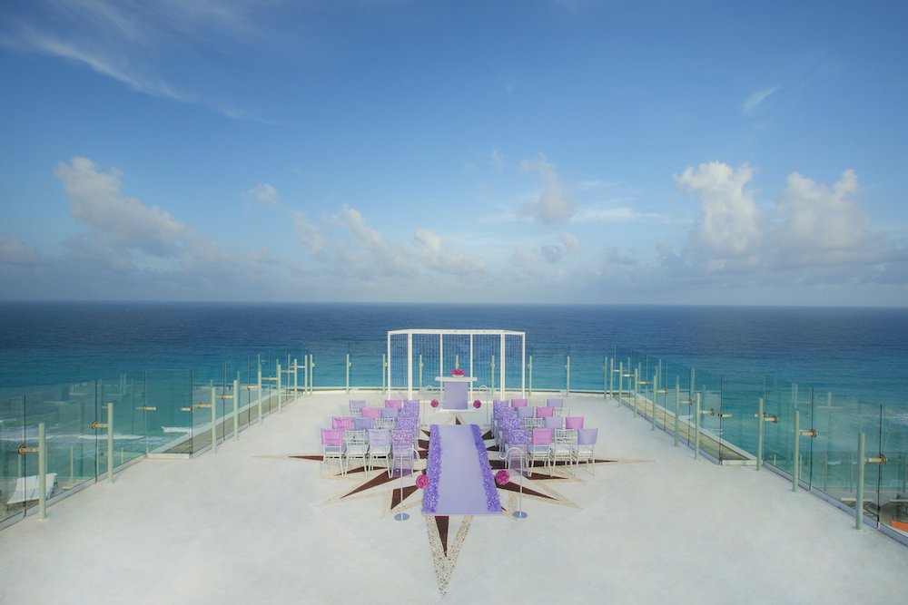 No image credit required Sky Terrace - Beach Palace Lavender Luxe Collection