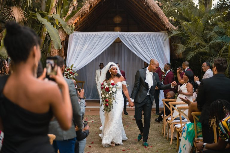 Ruthanne and Roosevelt's Wedding at Dreams Tulum