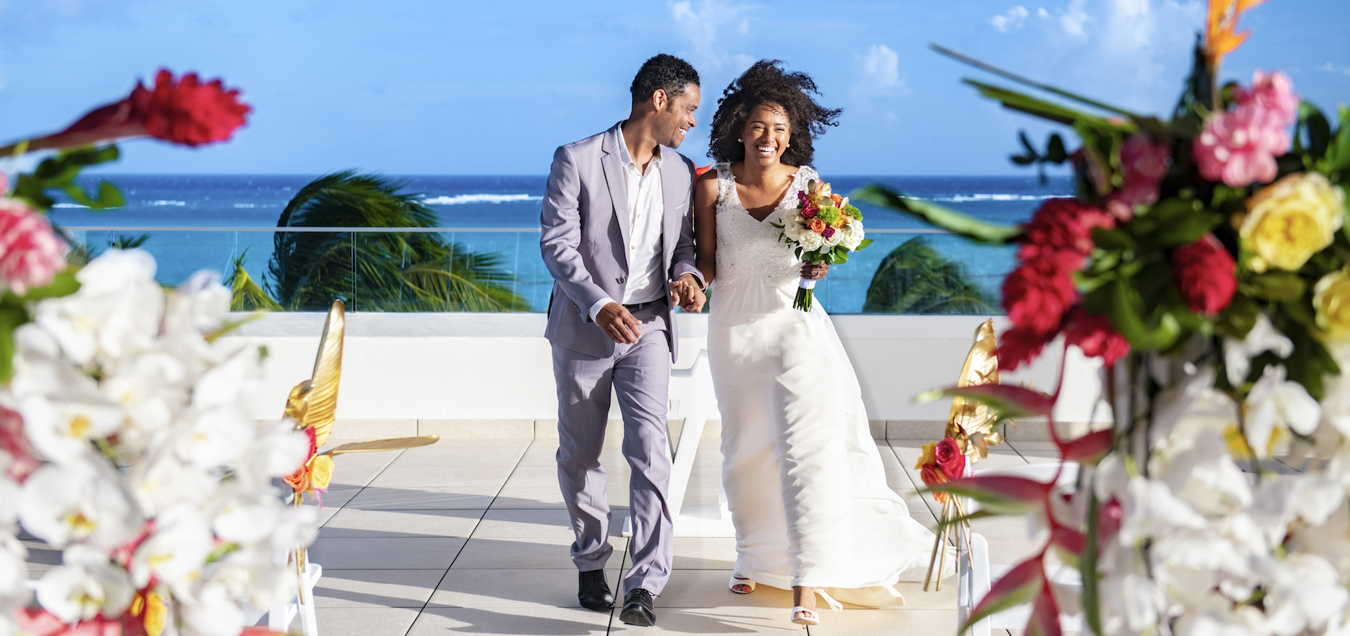Hyatt-Ziva-Cap-Cana-Rooftop-Weddings-Couple-1