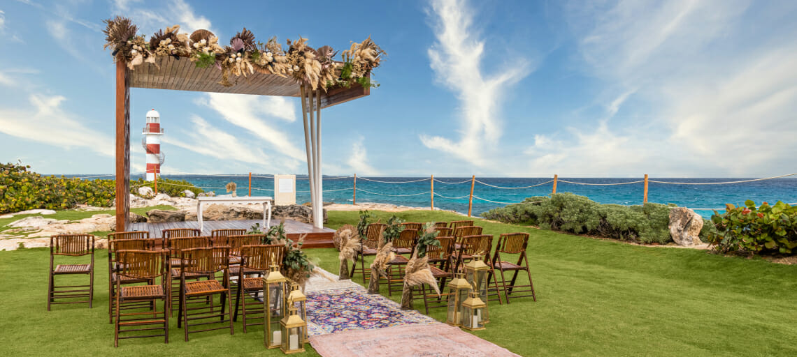 what is the average price for a cancun destination wedding packages hyatt ziva lighthouse gazebo