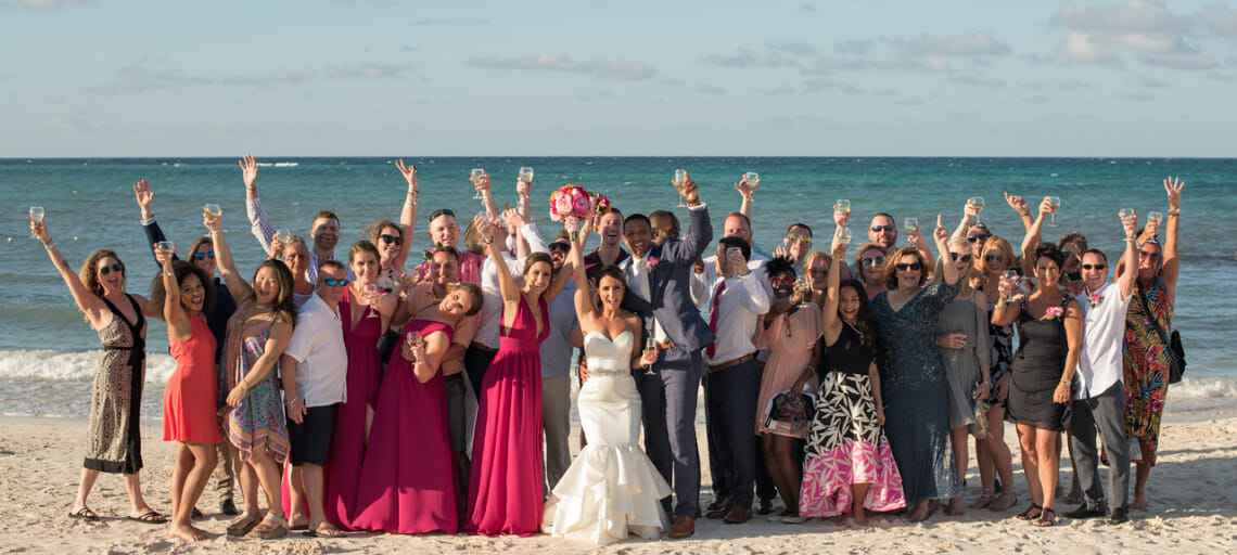 top 5 low cost jamaica wedding packages destination weddings royalton blue waters bridal party